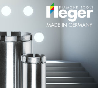 Heger Diamant Bohrkronen Made in Germany
