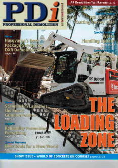 Heger im PDI Professional Demolition International Magazine